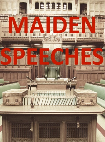 Maiden Speeches
